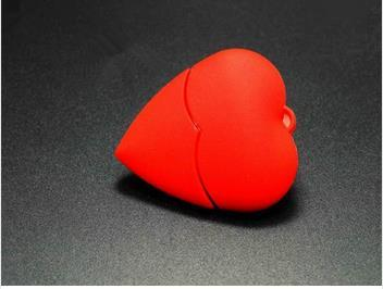 New arrive Red heart sweet love USB 2.0 flash memory stick pen drive 4GB 8GB 16GB 32GB 64GB usb flash drives Real capacity S899
