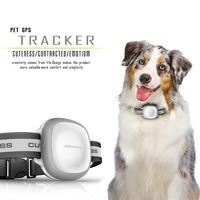 IP66 waterproof smart pet gps tracker wifi GPS LBS location with collar Android IOS app avaliable