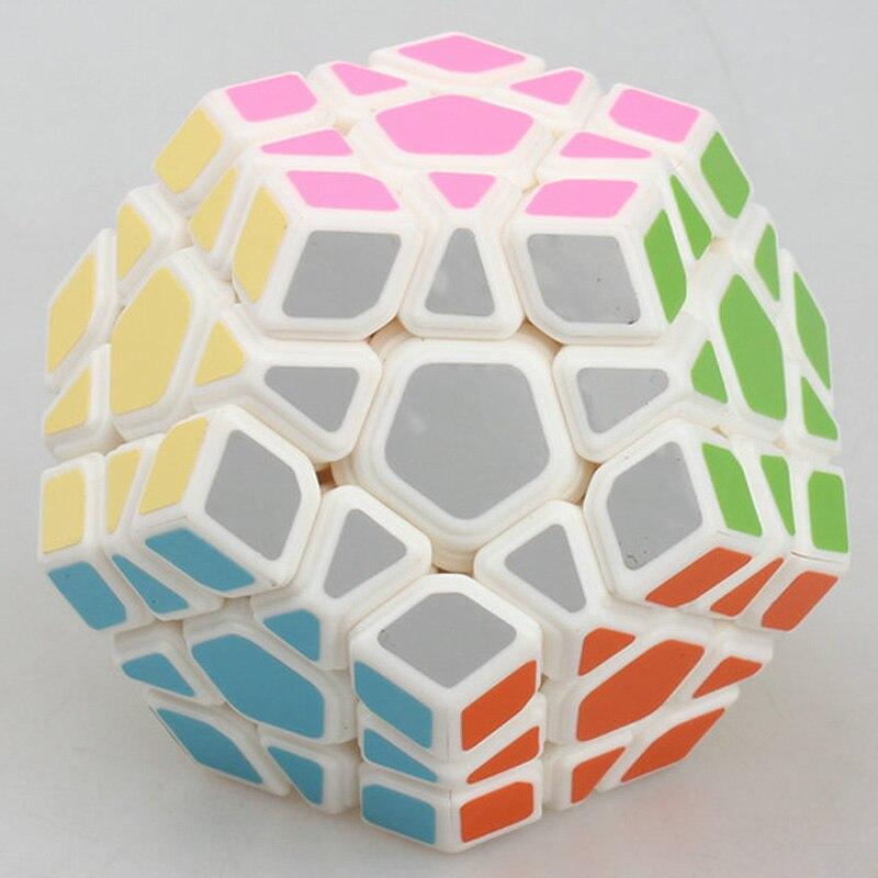 Yongjun MoYu Yuhu Megaminx Magic Cube Professional 5x5x5 PVC Matte Stickers Cubo Magico Puzzle Speed Classic