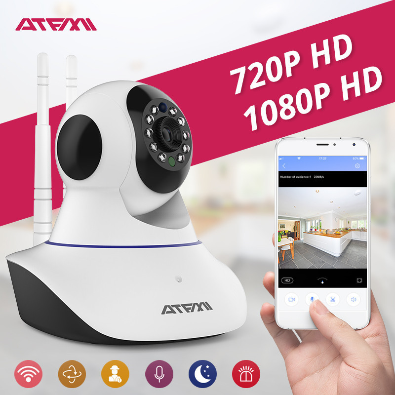 ATFMI 1MP 2MP ip Camera Wifi Cctv Security Surveillance Security Camera baby Monitor 360 Wifi Ip Factory Low price 720P 1080P st4000pro with ce certification factory provide cctv camera tester monitor