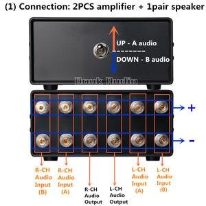 Image 2 - Nobsound 2 (1) IN 1 (2) OUT مضخم صوت/مقسم صوت المتكلم/الجلاد السلبي محدد شحن مجاني