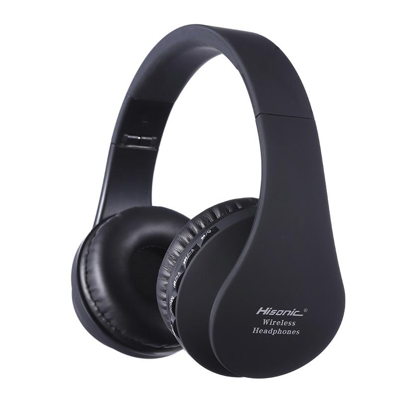 Clustdlysau clustdlysau Bluetooth Hisonig Clustdlysau plygadwy di-wifr stereo Meicroffon sain casc sain ffôn headset clustffonau 811