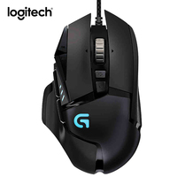 Logitech G502 Wired Gaming Mouse usb Computer Game Mouse for pc Laptop 12000 dpi RGB Light Gamer Profesional Mice Desktop