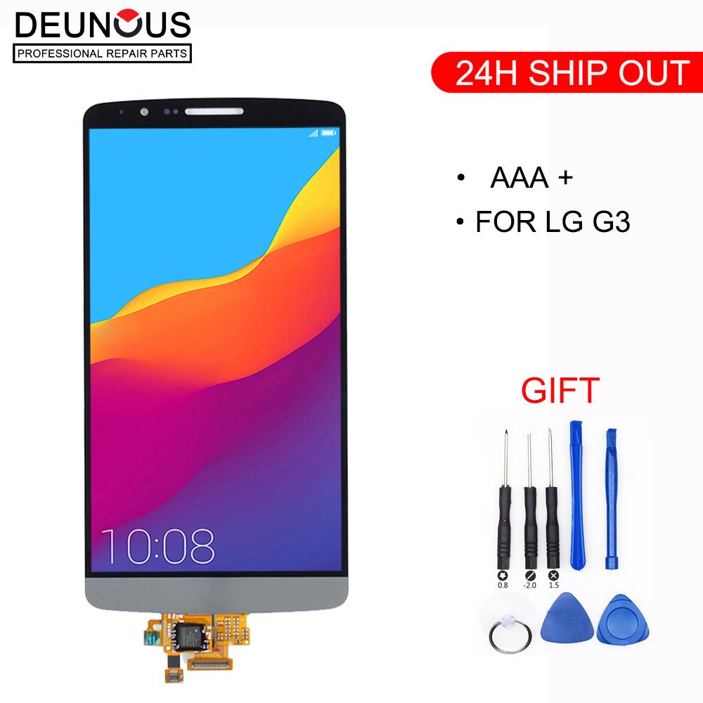 New Tested <font><b>Screen</b></font> for <font><b>LG</b></font> <font><b>G3</b></font> LCD Touch <font><b>Screen</b></font> Digitizer Assembly for <font><b>LG</b></font> <font><b>G3</b></font> Display D850 D851 D855 Replacement image