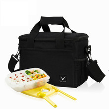 2019 24*16*19 CM Large Lunch Bags Insulated Thermal Cooler Bags Food Storage Picnic Travel Thermo Lunchbox Men Women Handbags