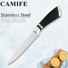 Ручная работа нержавеющая сталь ножи кухонные ножи аксессуары японские поварские Фрукты Утилита сантоку шеф-повара нарезки хлеба нож набор