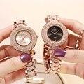 GEDI часы Для женщин со стразами роскошные дамы часы женские Модные часы Водонепроницаемый женский кварцевые наручные часы relogio feminino