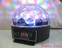 6 Channel DMX512 Control Digital LED RGB Crystal Magic Ball Effect Light DMX Disco DJ Stage Lighting 90-240V EU plug