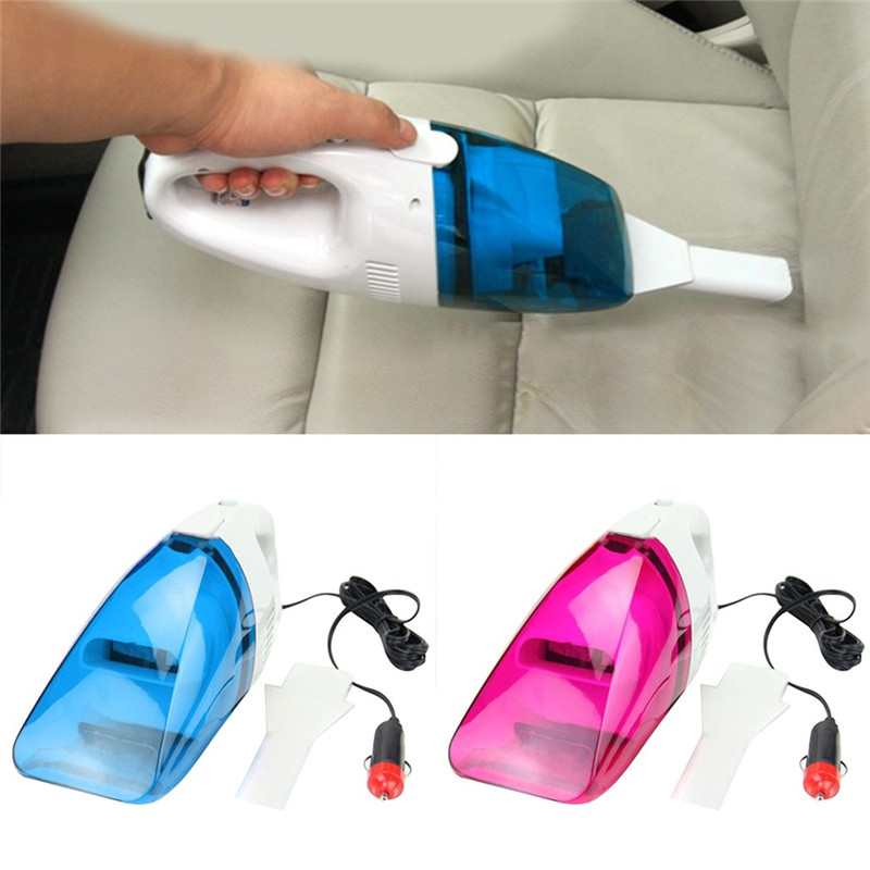 ICOCO Mini 12V Car Vacuum Cleaner Wet &Dry Dual-use Vehicle Dust Vacuum Cleaner Tool Aspirador De Po Portatil Crevice Nozze