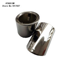 for Mazda CX-5 Cx 5 2012-2015 2016 Stainless Steel Exhaust Tip Tail Pipe Muffler Auto Car Styling Stickers  Accessories 2pcs