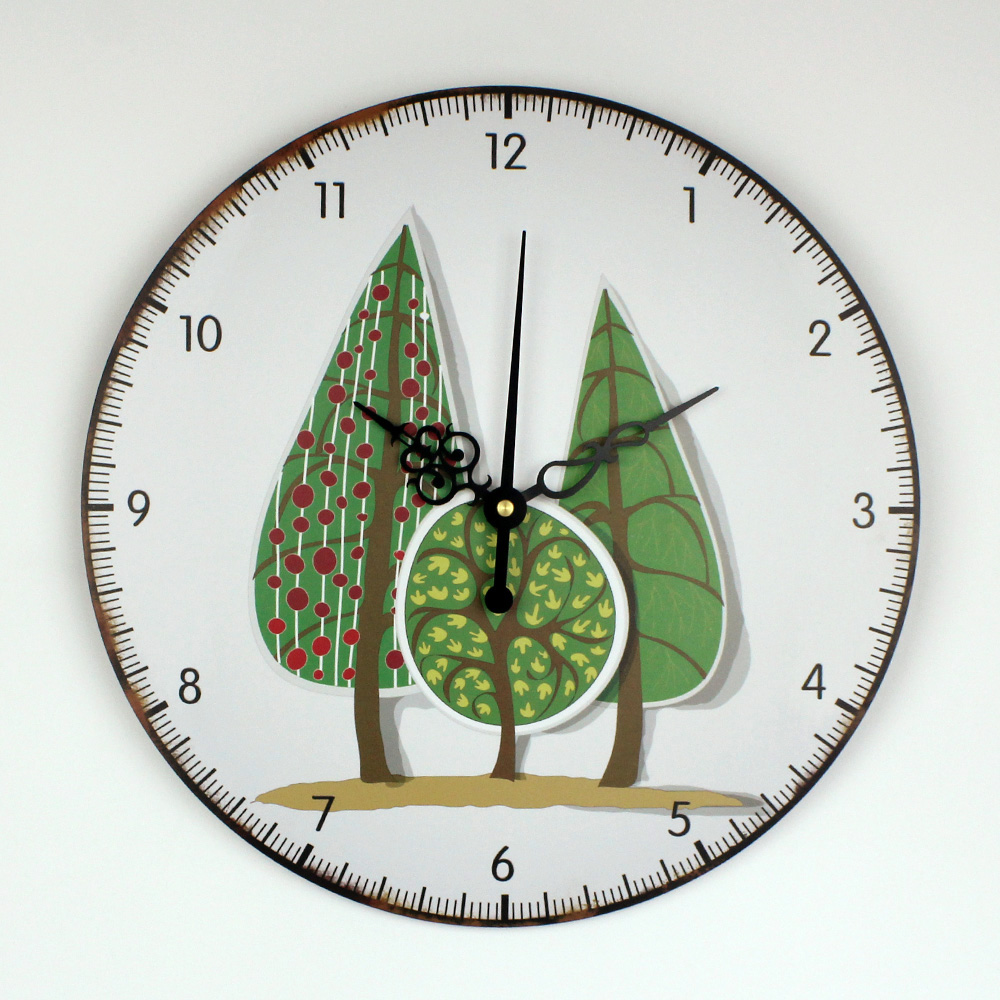 Modern Design Bedroom Decor Wall Clock Home Decoration More Quiet Wall  Watch Decor For Study Room Children Room Duvar Saati In Wall Clocks From  Home ...