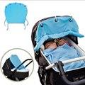 Sombrilla De Tela portátil Bebé Nuevos Niños Rodando Algodón Cortina Ventilado Parasol Accesorios Cochecitos de Bebé-MKC037 PT49
