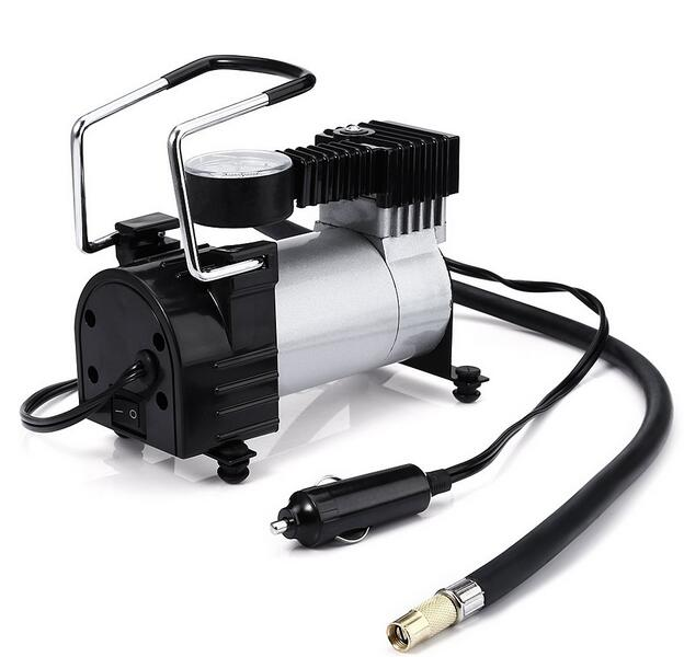 Emergency Breakdown Air Pump 12V Compressor Tyre Electronic Inflator For Skoda