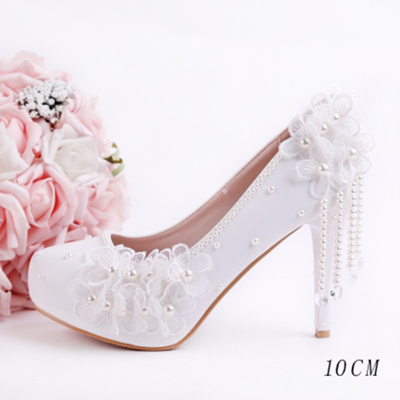 Women Pumps PU Leather High Heels Women Pumps Glitter High Heel 10/12/14 CM Pointed Toe Shoes Woman Sexy Wedding Shoes White daidiesha pu leather high heels shoes women pointed toe glitter pumps elegant party wedding lady block heels ankle strap shoes