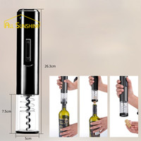 Akcesoria Opener Automatyczne Butelka Szampana Korek Wina Korkociąg elektryczny Kitchen Bar Gadżety Narzędzie Plastikowe Pojedyncze Barware