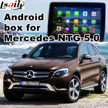 Android GPS navigation box video interface for Mercedes-benz NTG-5.0 with cast screen