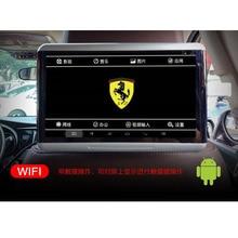 ФОТО two pieces tv headrest latest quad-core a53 chip headrest screens for ferrari