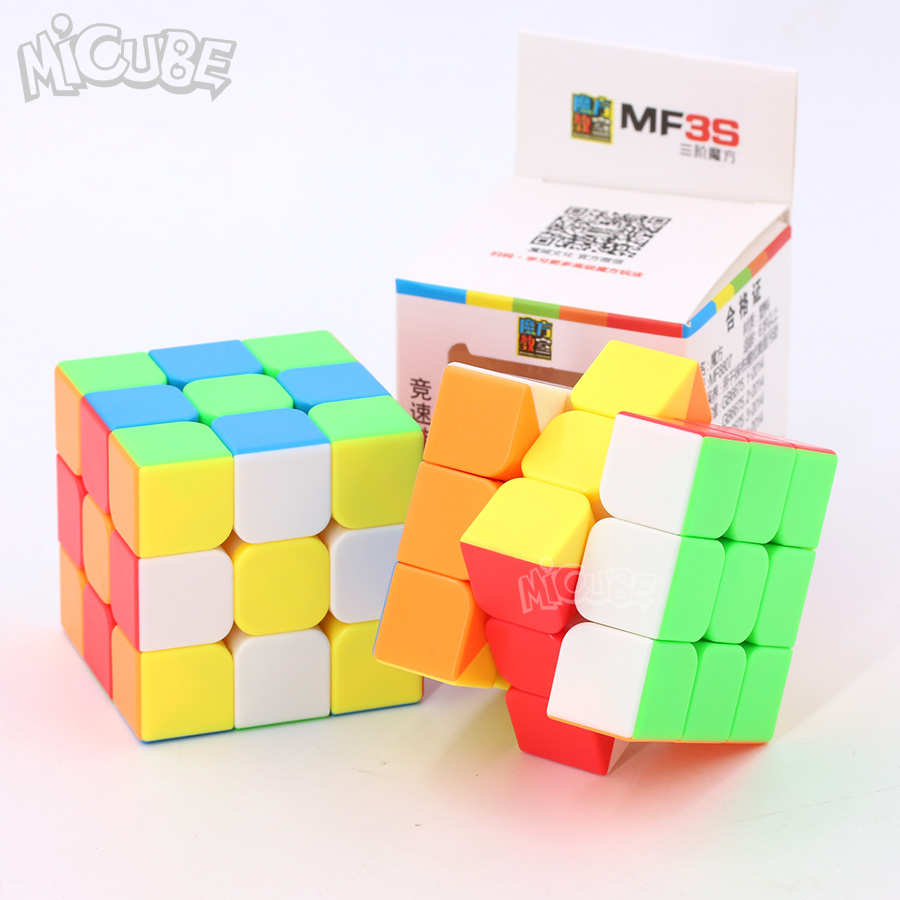 Micube Mofangjiaoshi MF3S 3x3x3 Cube Speed Puzzle Stickerless 56 Mm Cubes Toys For Kids Children Cubo Magico