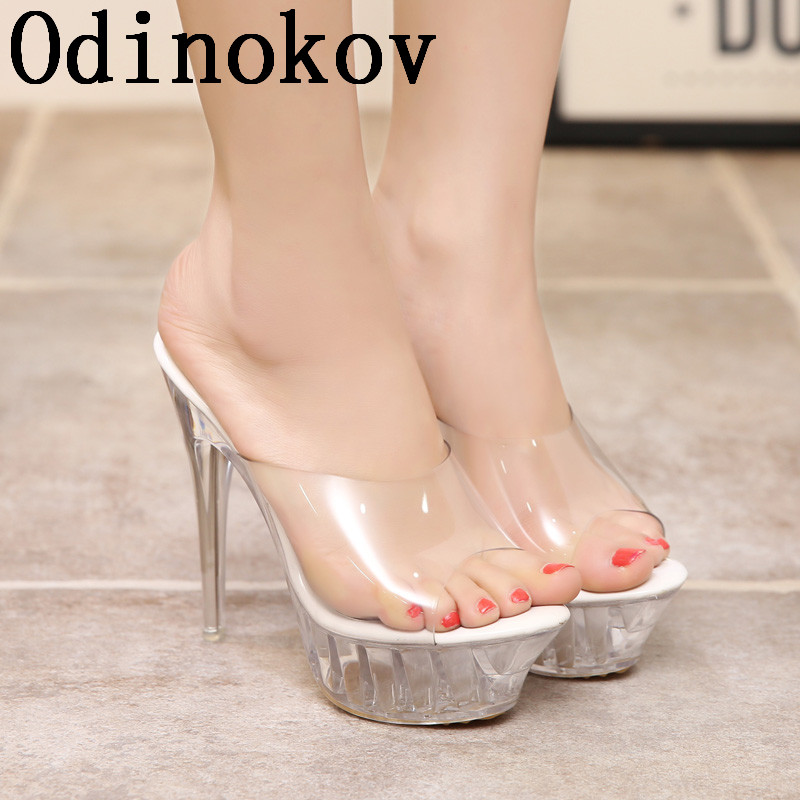 Odinokov 14 CM Ultra High Heels Female Sandals Casual woman Straw woven Platform wedges around Rome Sandals image