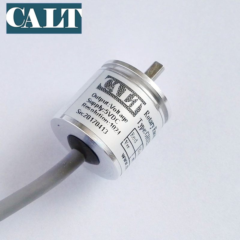 CALT GHS25 mini digital optical rotary encoder cheap solid shaft npn output incremental angle encoder free shipping dhc40m6 500 pulse encoder incremental solid shaft rotary encoder sensor