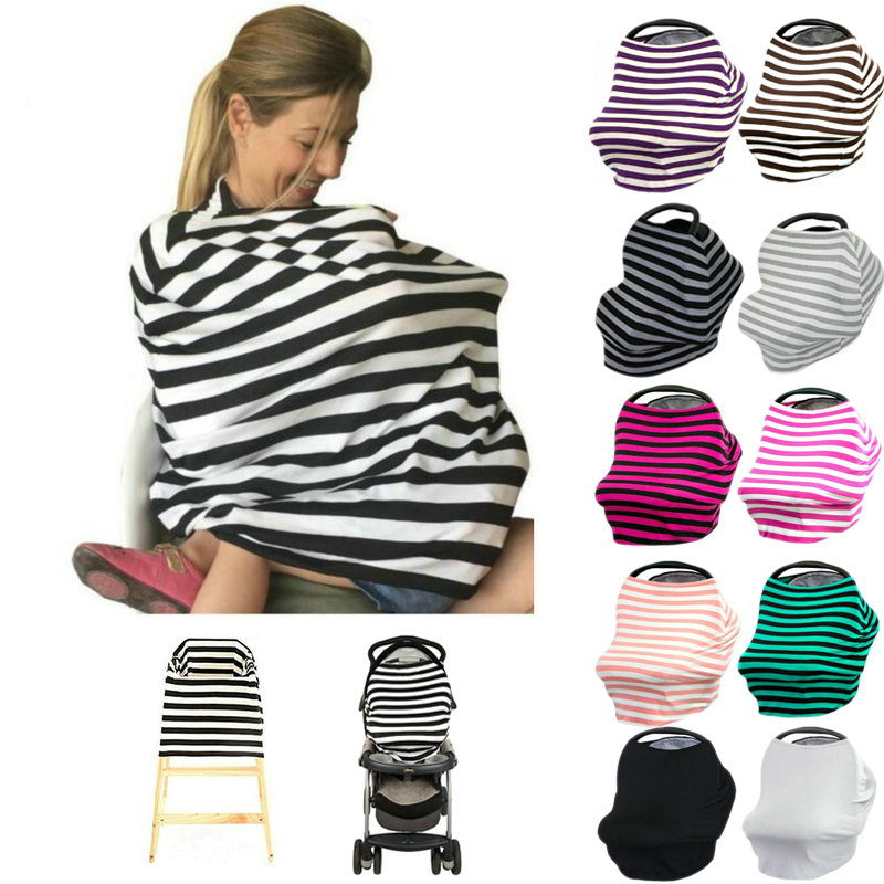 Baby Car Seat Cover Canopy Nursing Cover Multi Use
