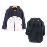 2017 New Men Women Anime My Neighbor Totoro Hoodie Coat Cosplay Costume Sweatshirts Jacket Free Shipping