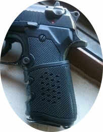 Tactical Glock Pistol Rubber Grip Mouw Cover Anti Slip Voor Stretch Voor Glock 17 19 20 21 22 31 32 m4 AR15 Airsoft Holster