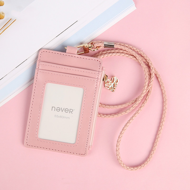 Student Card holder note holder rayli style vertical Work Cards Sets Of Employees Cards Plastic Id Holder Id Card Holder Neck hooray let s play b card sets flashcards story cards