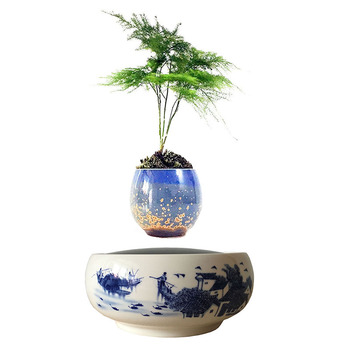 Pot de fleur décoration intérieur pot lévitation pot de fleur magnétique 1