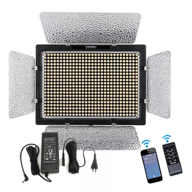 Yongnuo YN900 3200 5500K Bi color APP Remote Control CRI95 54W 7200LM 900 LED Video Light