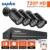 Sannce 1080n 8ch hd dvr 4 pcs 1200tvl ir câmeras do sistema de vigilância de vídeo ao ar livre 720 p cctv home security kits motion detecção