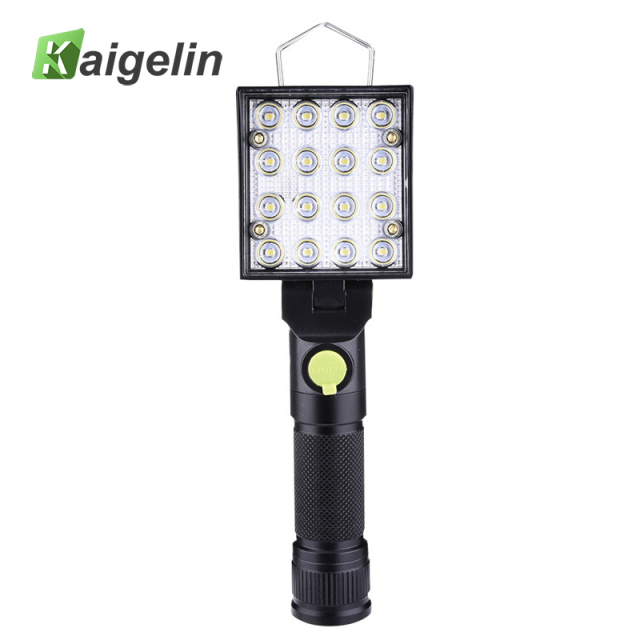 LED Portable Working Lamp 4 Lighing Mode Rechargeable Camping Lanterns Flashlight Magnetic LED Emergency Safety LED With Battery