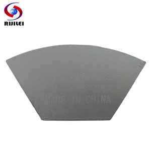 Image 3 - RIJILEI 12PCS Sector Metal Bond Diamond Grinding Disc for Concrete Floor Grinding Shoes Plate Strong Magnetic Grinding Disk A50