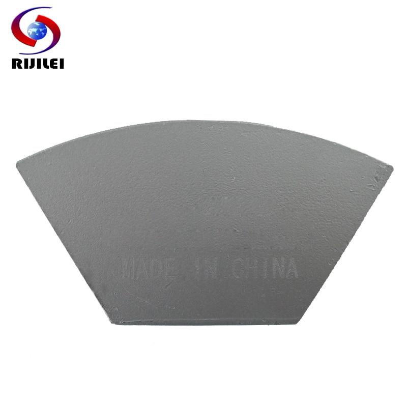 RIJILEI 12PCS Sector Metal Bond Disco de pulido de diamante para piso - Herramientas eléctricas - foto 3