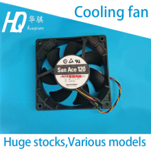 Cooling fan for NXT Fuji chip mounter Sanyo Denki San Ace 120 9G1224G4D01 DC24V 0.47A H30129 SMT SMD spare parts 120*120*25 цены