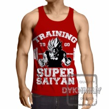 Dragon Ball Z Bodybuilding Clothing Sleeveless Men Tank Top