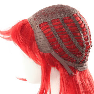 Image 5 - L email wig LoL Lux Cosplay Wigs Battle Academia Prestige Lux Cosplay Wig 70cm Long Red Braid Hair Heat Resistant Synthetic Hair