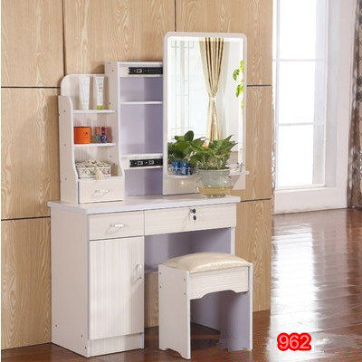 Fashion Bedroom Make Up Dresser With A Mini Cabinet And Movable Slide Mirror In Dressers From Furniture On Aliexpress Alibaba Group
