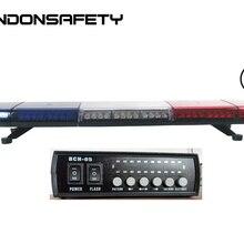 По FedEx! ECE R65 одобренный 1 Вт Светодиодный фонарь для автомобиля, мигающий предупреждающий бар, 80 шт. светодиодный s, DC12V или 24 В, 1164 мм/46 дюймов, янтарный