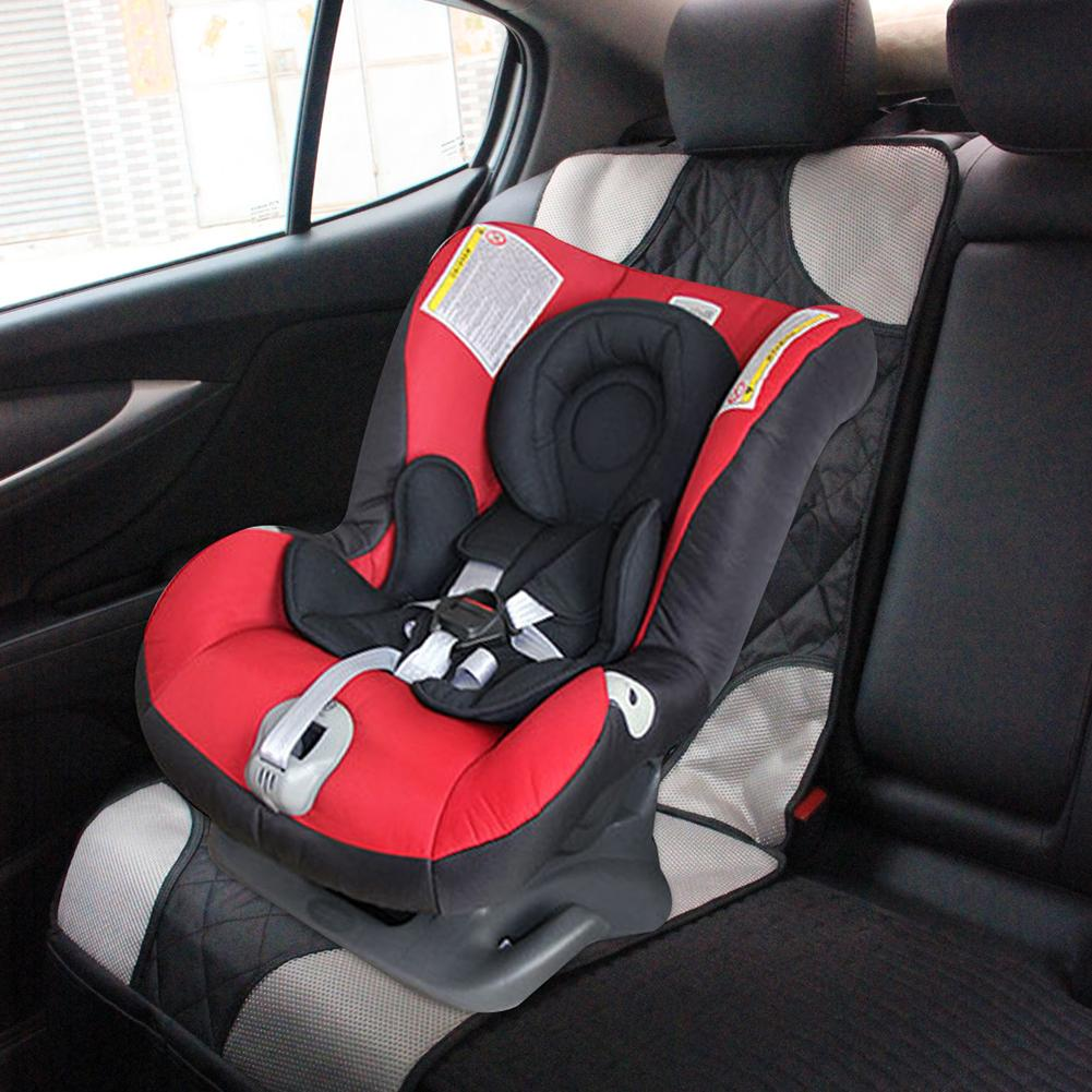 Children's Car Seat Cushion Nonslip Wear Resistant Pad Leather Seat Protector