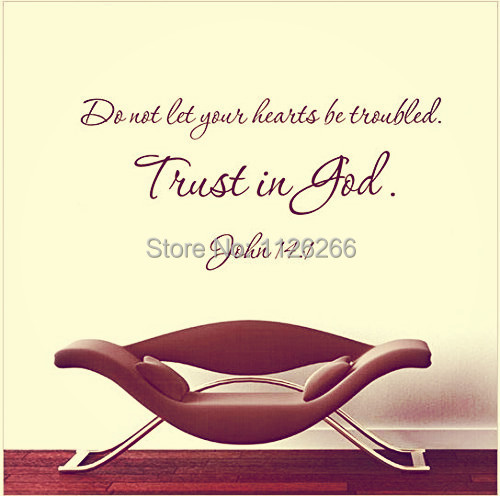 Aliexpress.com : Buy Wall Sticker Quotes Trust In God Removable Christian Wall  Art Vinyl Decal Home Decor From Reliable Decoration Sticker Wall Suppliers  On ... Part 87