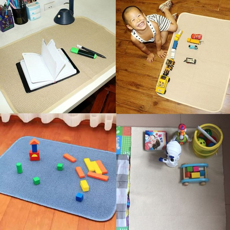 New Playing Mat Working Rug Small Montessori Materials Accessories Table Mat in Play Mats from Toys Hobbies