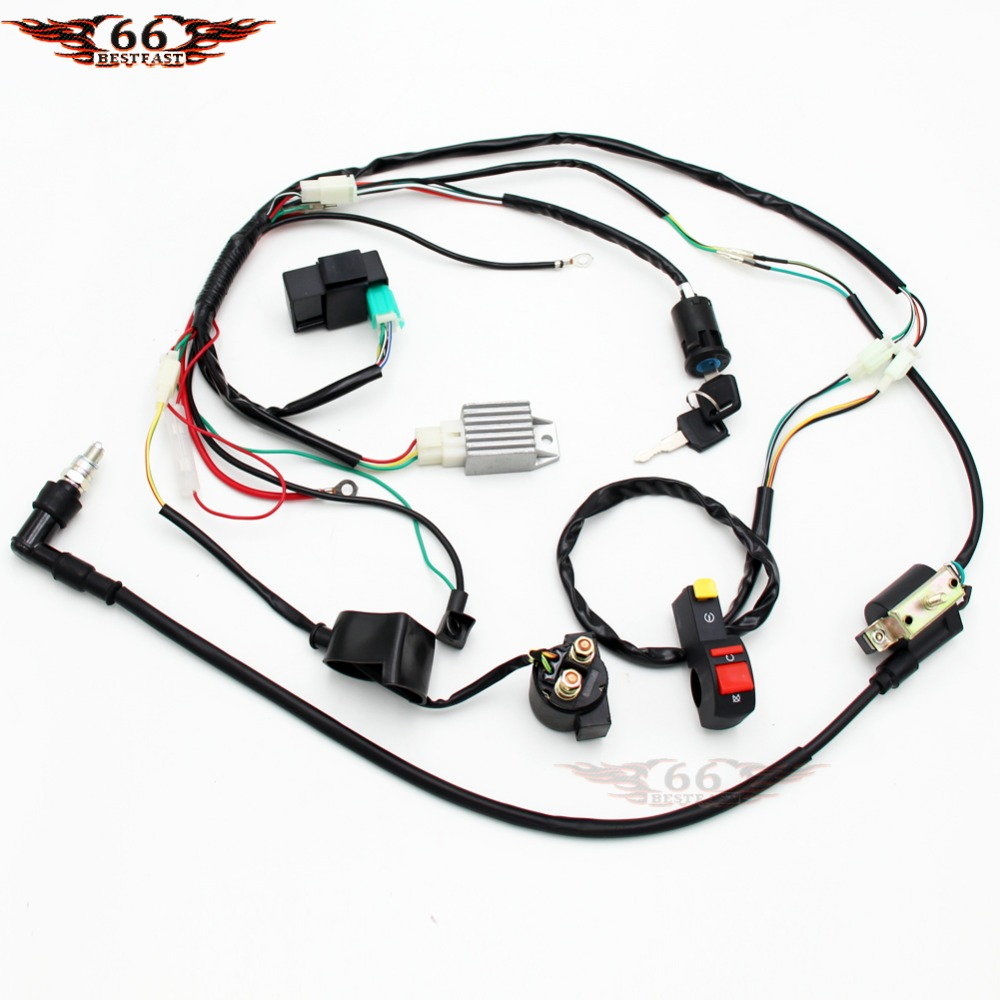 70cc Wiring Harness | Wiring Diagram on