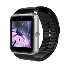 Smart Watch Clock Sync Notifier Bluetooth Smart Watch for iPhone 6/5S Android Samsung Galaxy S6 S5 S4 Smart Wristband GT0h