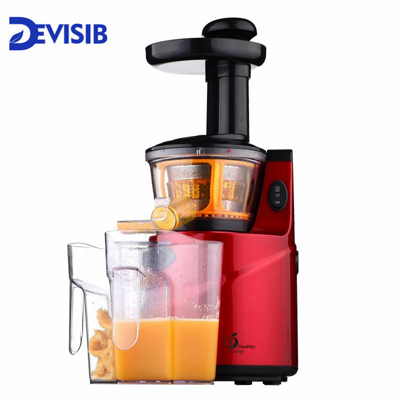 Slow Juicer 250W Fruits Vegetables Low Speed Slowly Juice Extractor Juicers Fruit Drinking Machine For Home точило gipfel 2917