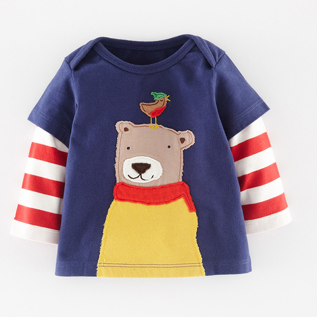 41ec048919b48 Baby Boy T shirt Kids Clothes Boys Designer Kids Brand 2016 spring Boys T  shirts Children Clothing Character Print Kids T shirt-in T-Shirts from ...