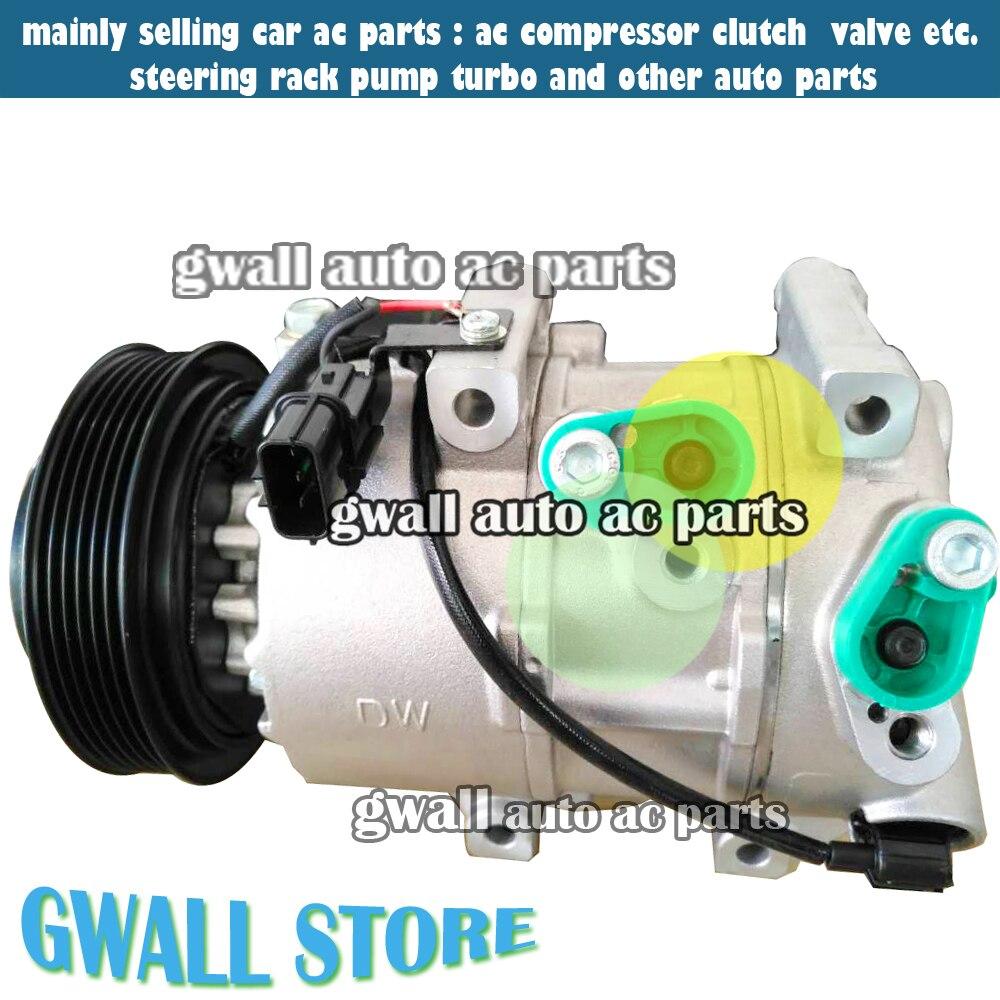 Dve16 car auto air conditioning compressor for car hyundai tucson for car kia sportage 97701