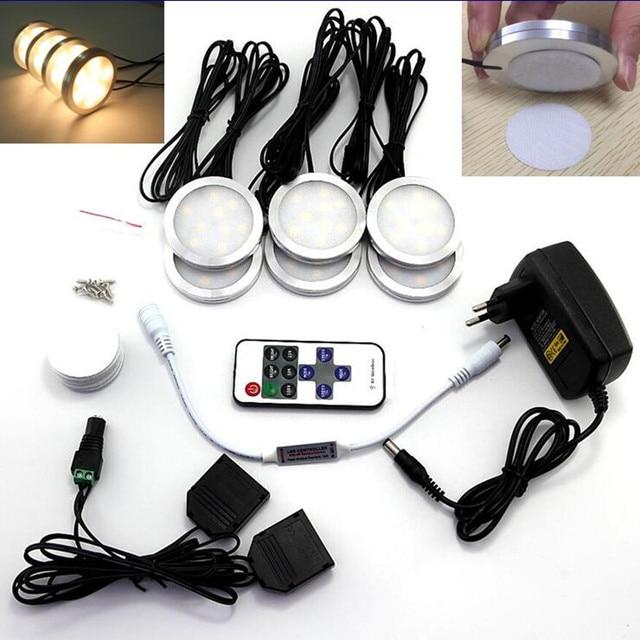 Unter Kabinett Led leuchten 6 Lampen Set mit Wireless RF ...