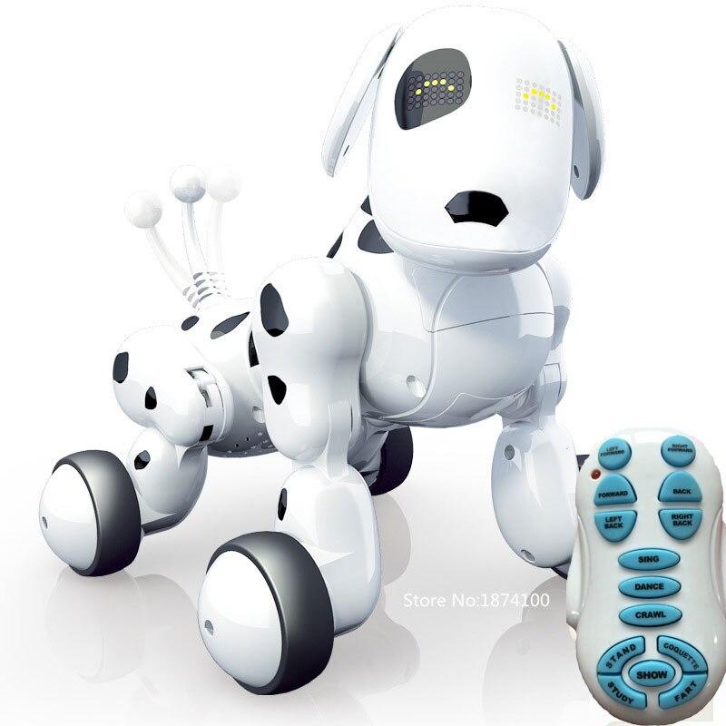 Zhenwei Многофункциональный Беспроводной R/C Smart собака дистанционного Управление робот собака электронных домашних животных детские игрушки ... ...
