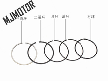 Rings set for GY6 150cc Scooter Chinese Motorcycle QJ Keeway 157QMJ engine Cylinder Piston ATV Moped